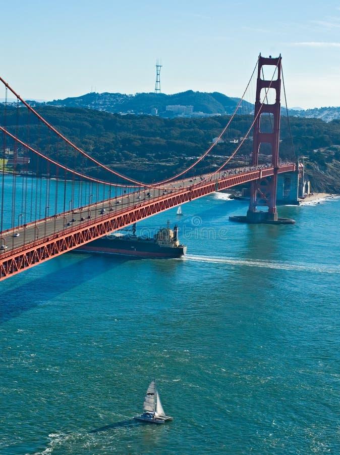 Puente de puerta de oro de San Francisco fotografía de archivo