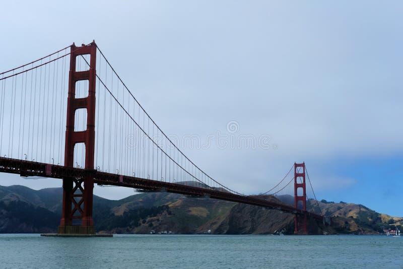 Puente de puerta de oro en San Francisco, California imagen de archivo libre de regalías