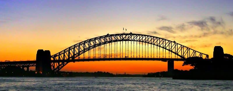 Puente de puerto de Sydney fotografía de archivo