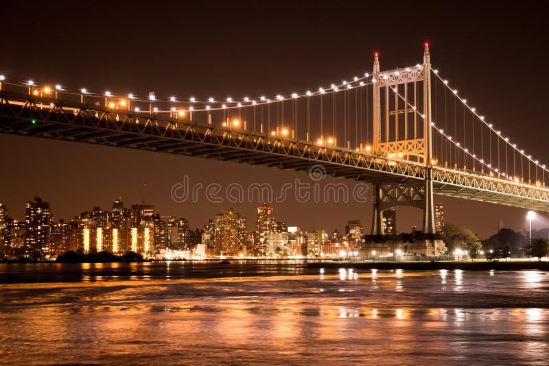 Puente de Queensboro New York City fotografía de archivo