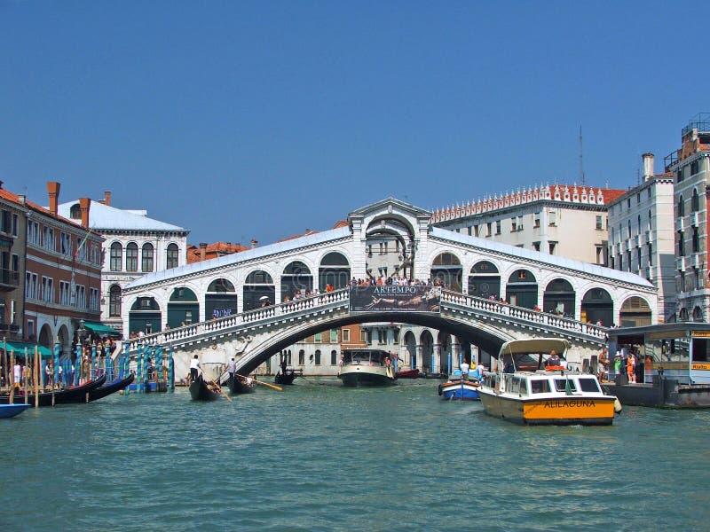 Puente de Rialto foto de archivo