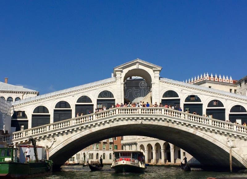 Puente de Rialto imagen de archivo