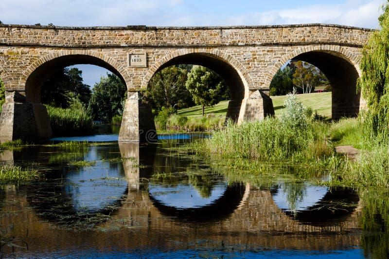 Puente de Richmond - Tasmania imagen de archivo libre de regalías