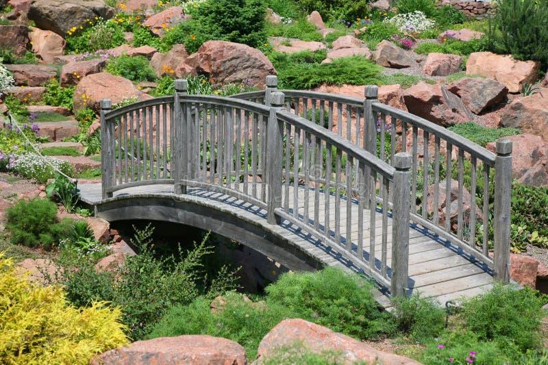 Puente de Rockgarden imagenes de archivo