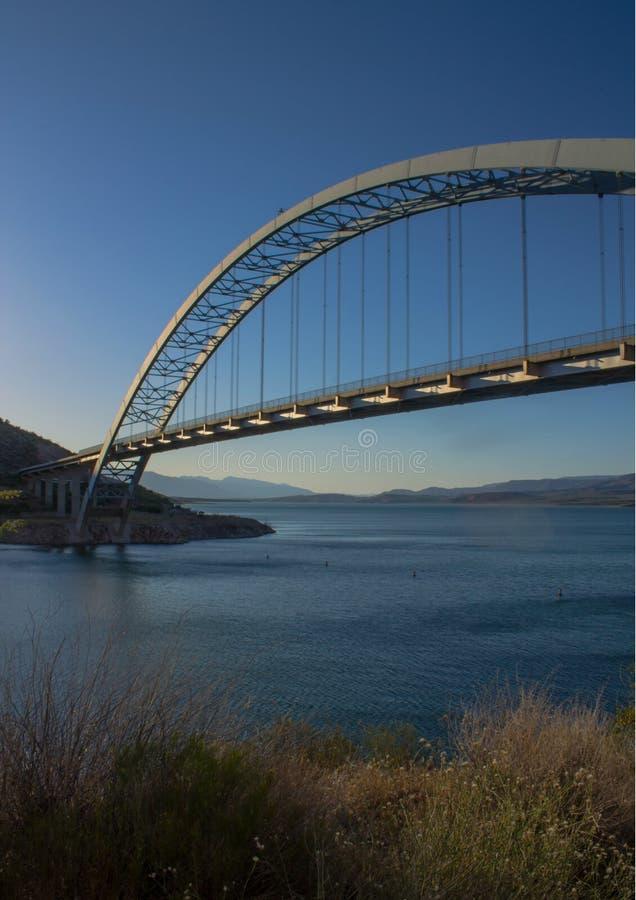 Puente de Roosevelt en Arizona imágenes de archivo libres de regalías