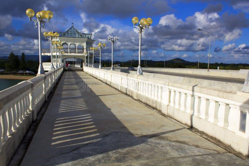Puente de Sarasin fotos de archivo libres de regalías