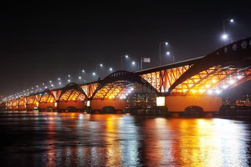 Puente de SeongSan. fotos de archivo libres de regalías