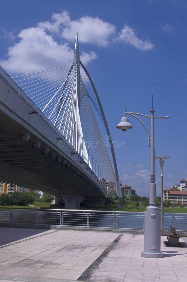 Puente de Seri Wawasan imágenes de archivo libres de regalías