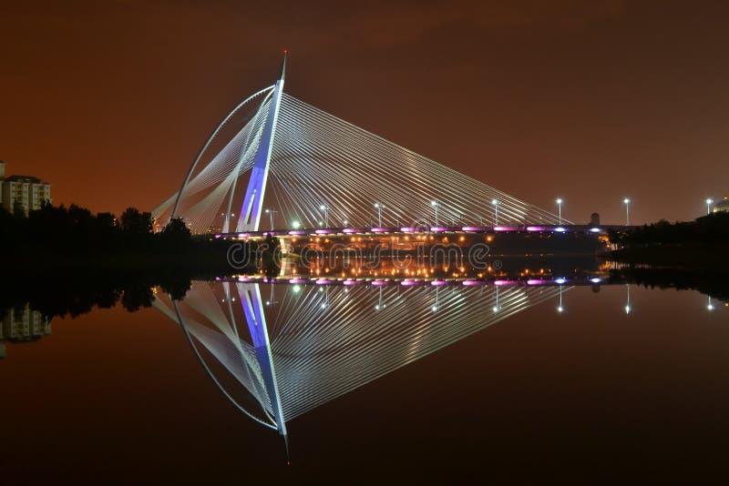 Puente de Seri Wawasan imagen de archivo libre de regalías