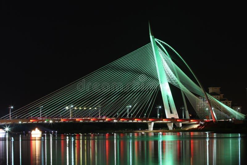 Puente de Seri Wawasan fotos de archivo