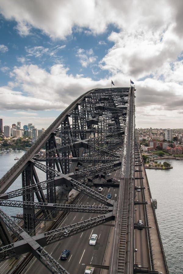 Puente de Sidney Habour fotografía de archivo