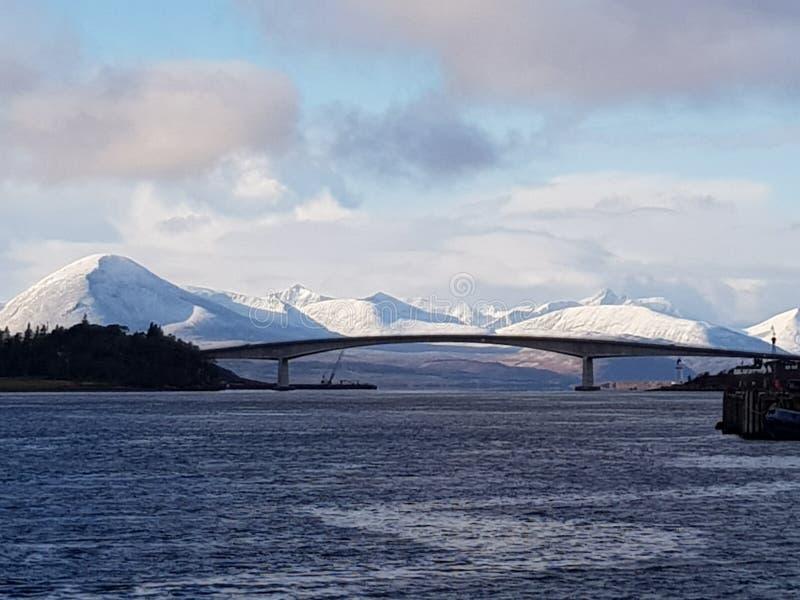 Puente de Skye fotos de archivo