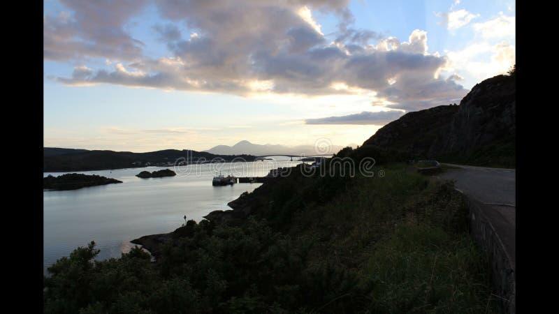 Puente de Skye fotografía de archivo