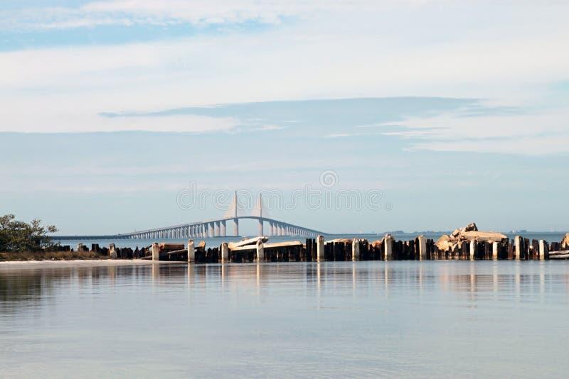 Puente de Skyway de la sol foto de archivo