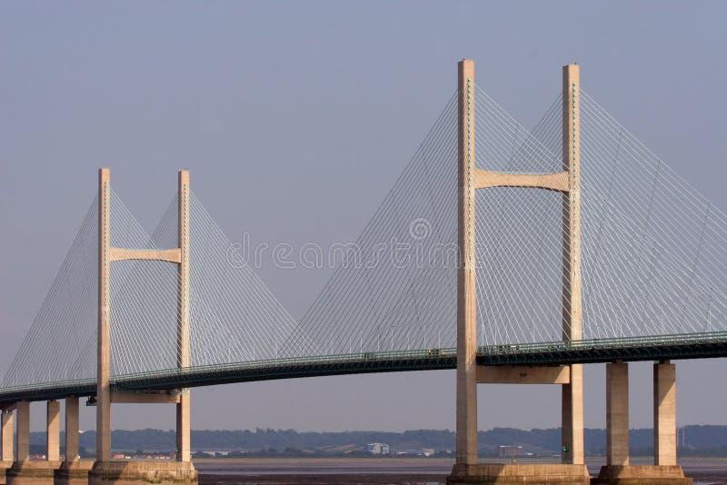 Puente de suspensión foto de archivo libre de regalías