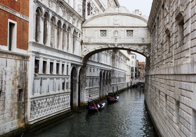 Puente de suspiros, Venecia, Italia imagen de archivo libre de regalías