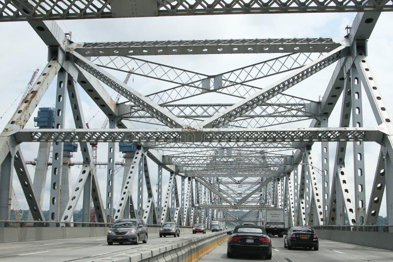 Puente de Tappan Zee foto de archivo