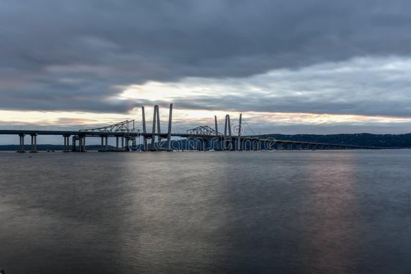 Puente de Tappan Zee - Nueva York imagen de archivo libre de regalías