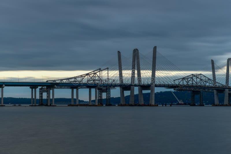 Puente de Tappan Zee - Nueva York fotografía de archivo libre de regalías