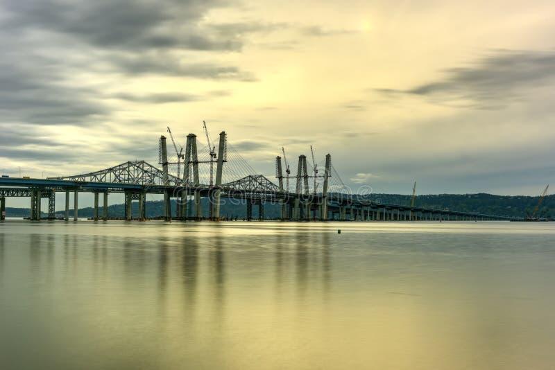 Puente de Tappan Zee - Nueva York fotos de archivo