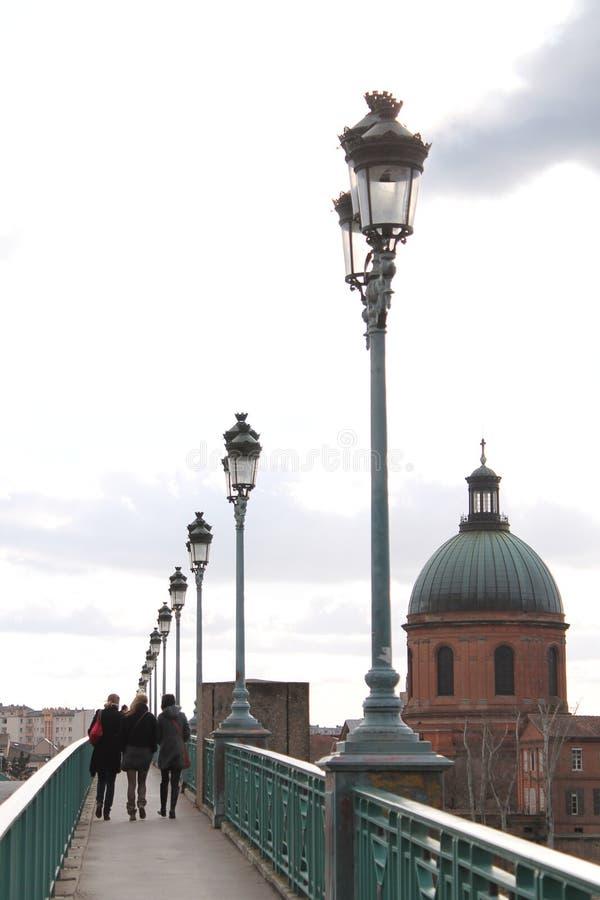 Puente de Toulouse fotos de archivo libres de regalías