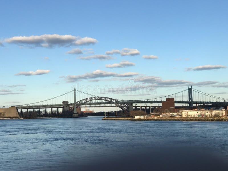 Puente de Triboro - aka puente de RFK fotografía de archivo