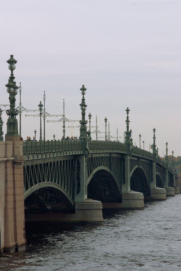 Puente de Troitsky fotografía de archivo