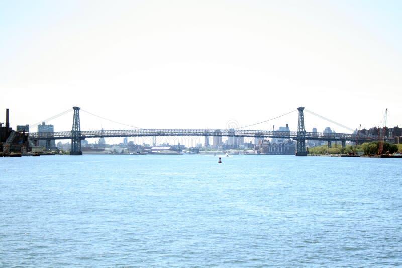 Puente de Williamsburg fotografía de archivo