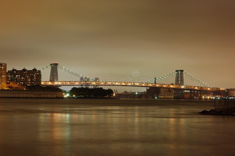 Puente de Williamsburg fotos de archivo