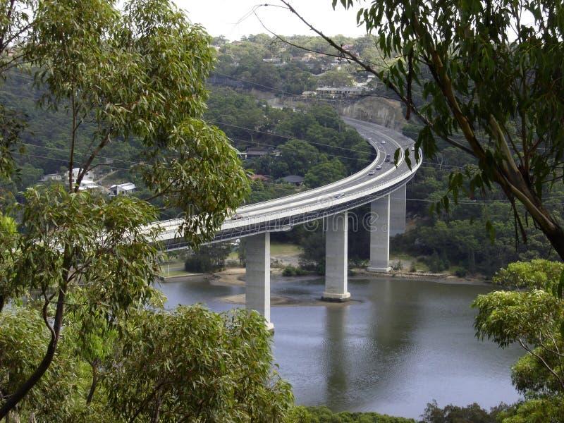 Puente de Woronora imágenes de archivo libres de regalías