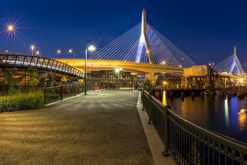 Puente de Zakim imagen de archivo