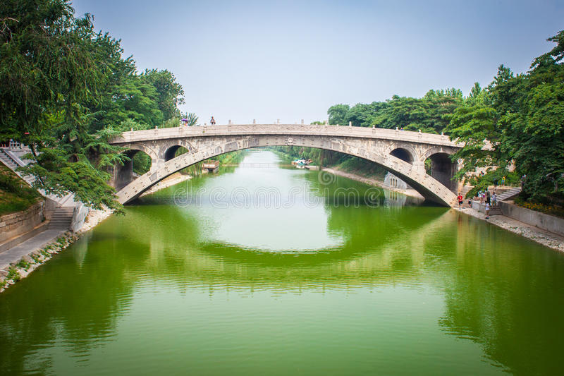 Puente de Zhaozhou imagenes de archivo