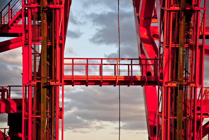 Puente de Zhivopisny puente Cable-permanecido Primer moscú imagen de archivo