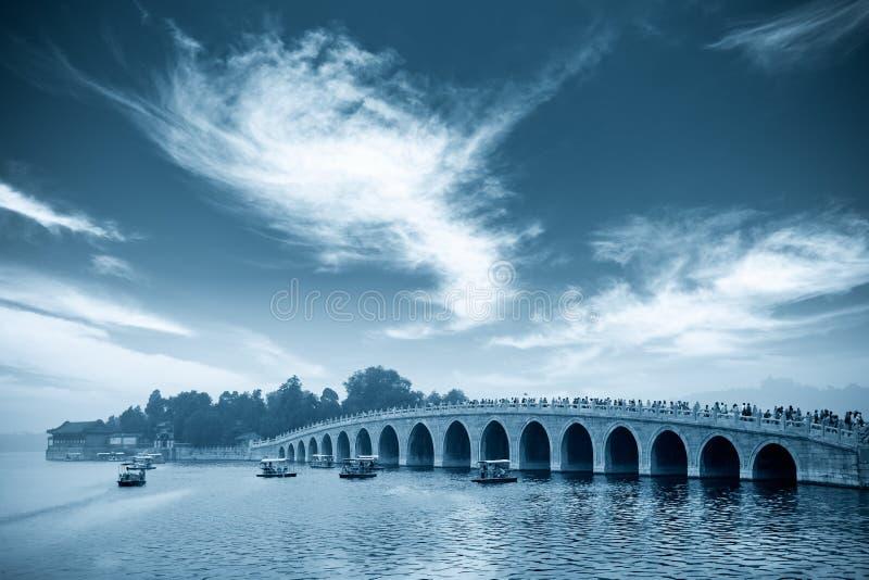 Puente del agujero de Pekín diecisiete foto de archivo libre de regalías