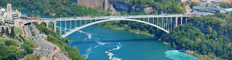 Puente del arco iris imagen de archivo libre de regalías