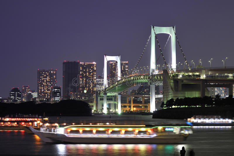 Puente del arco iris de Tokio fotos de archivo libres de regalías