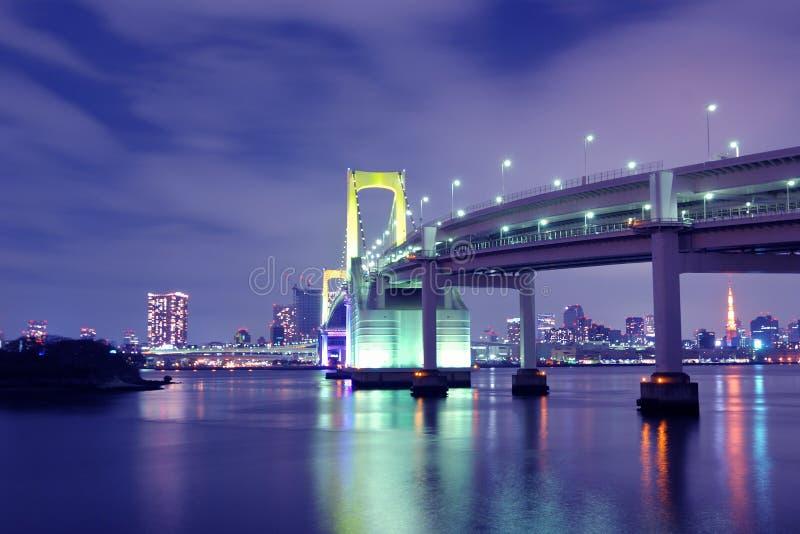 Puente del arco iris de Tokio imagen de archivo libre de regalías