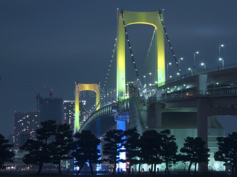 Puente del arco iris de Tokio fotografía de archivo