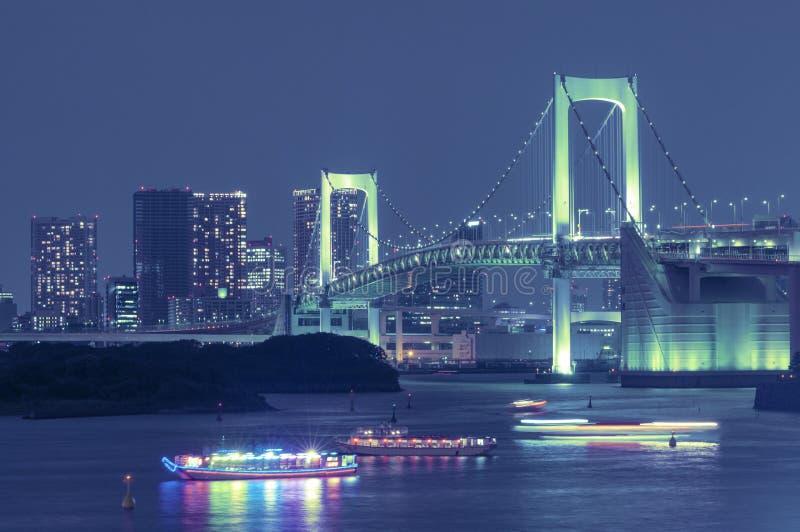 Puente del arco iris de Tokio foto de archivo