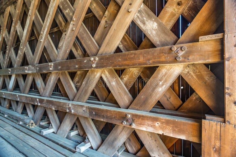 Puente del ferrocarril de Contoocook fotos de archivo libres de regalías
