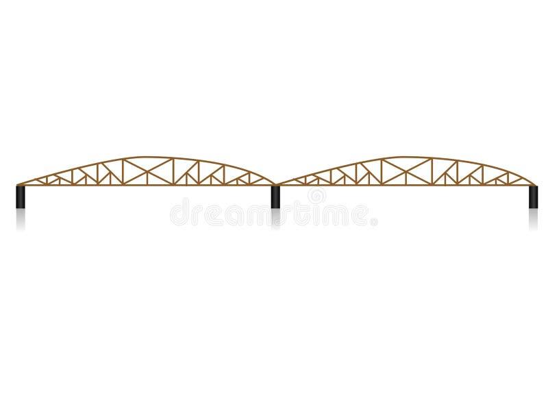 Puente del hierro foto de archivo