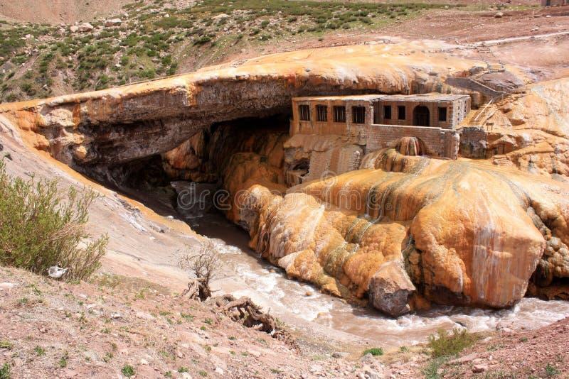 Download Puente del Inca stock image. Image of stone, resort, formation - 12383981