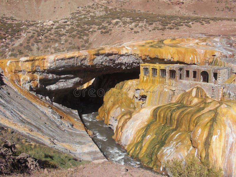Puente Del Inca stockbilder