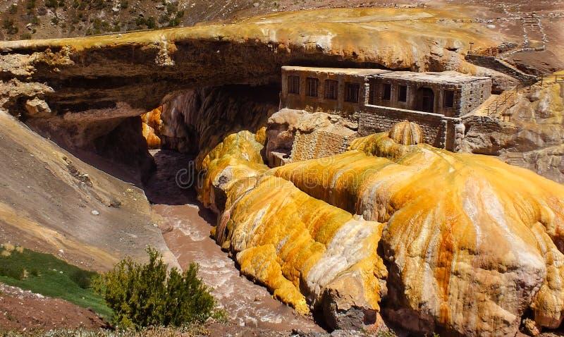 puente del inca стоковое изображение