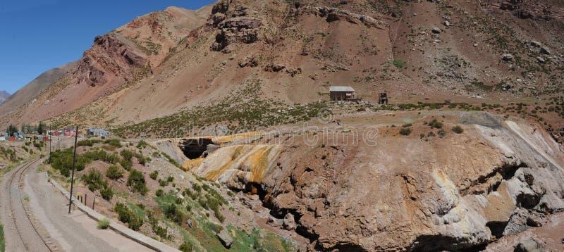 Download Puente Del Inca In Argentine Andes Stock Photo - Image: 21929688