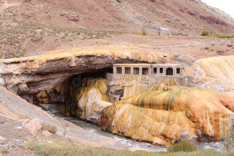 Puente del Inca - Inca-brug royalty-vrije stock afbeelding