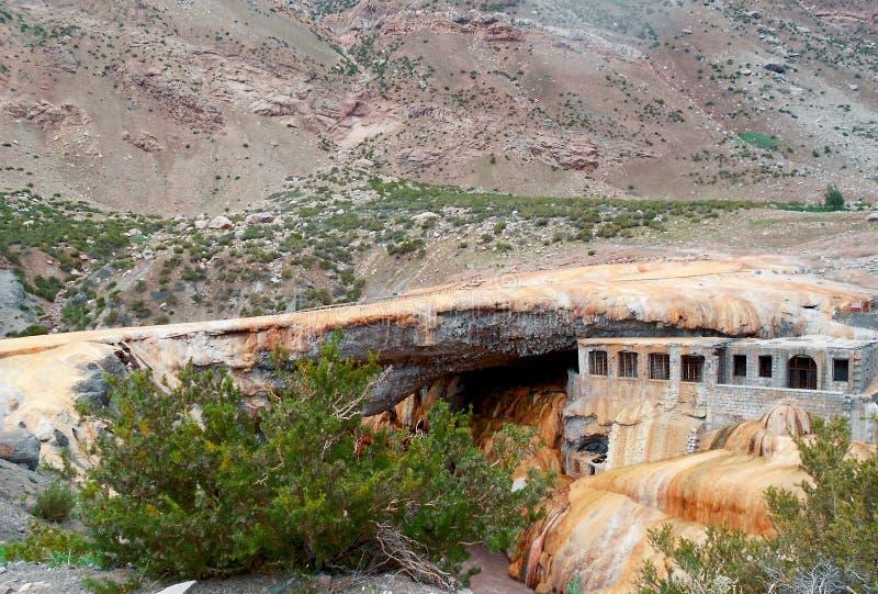 Puente del Inca, Mendoza royaltyfri fotografi