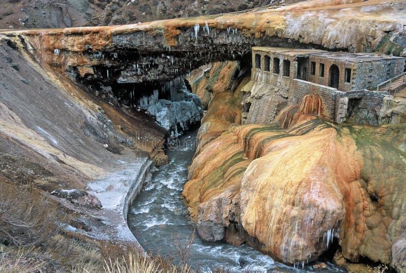 Puente del Inca, Mendoza, Argentinië royalty-vrije stock afbeelding