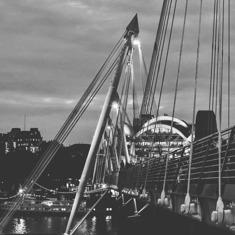 Puente del jubileo foto de archivo libre de regalías