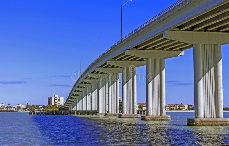 Puente del monumento de Clearwater foto de archivo